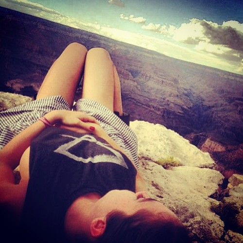 @dawnofmegan  just hangin, the youshh , you no… #grandcanyon #mothernature #earth #symbol