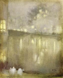 James Abbott McNeil Whistler, Nocturne:Grey and Gold- Canal, Holland c.1883-1884