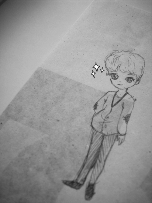 It´s supposed to be Luhan TTvTT