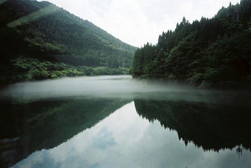 Olympus Trip 35 relfection transparency takayama japan