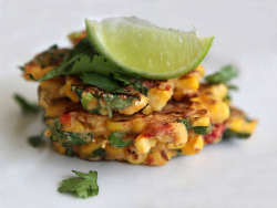 corn fritters by tres.jolie on Flickr.