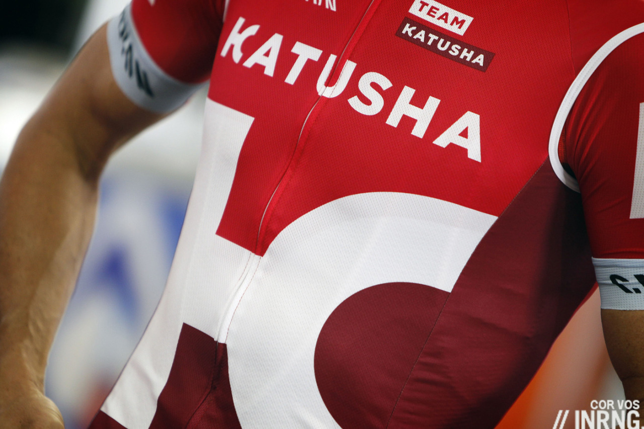Katusha jersey