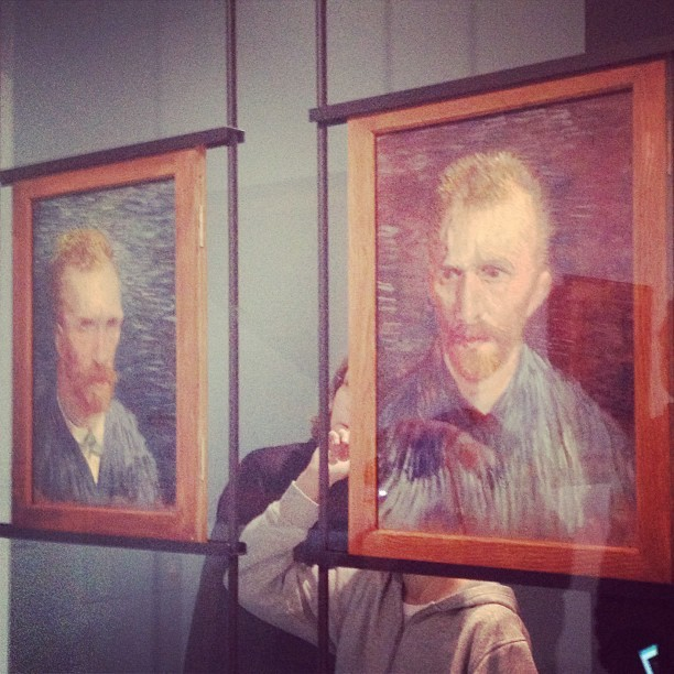 The original selfie. Van Gogh  was such a hipster. (at Van Gogh Museum)
