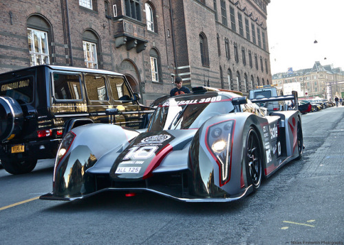 Rebellion R2K. by Niklas Emmerich Photography on Flickr.Via Flickr: Jon Olsson's new car while testing the new AC on the Grid. Do not use without my permission. Gumball3000, Kopenhagen 2013