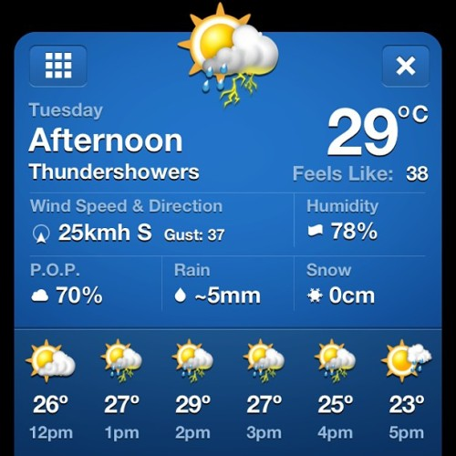 It's gonna be a hot one 😅😎 (at Sarnia, ON)
