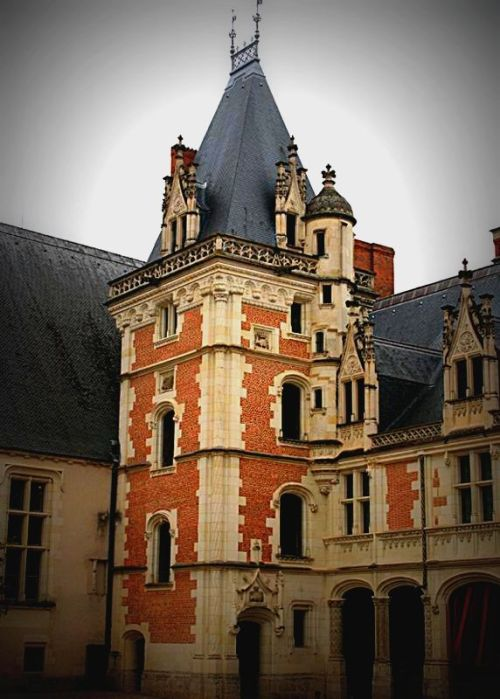 Royal Castle, Blois, France photo by chrysilla