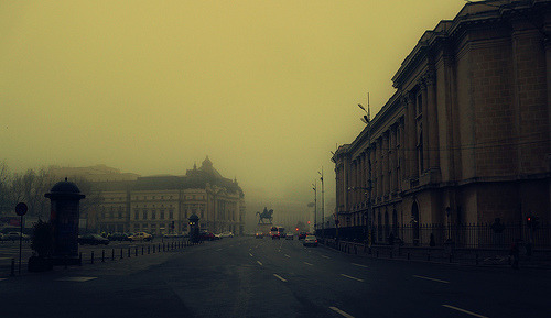 fuckyeahbalkans:  Bucharest, Romania (by yony_ro)