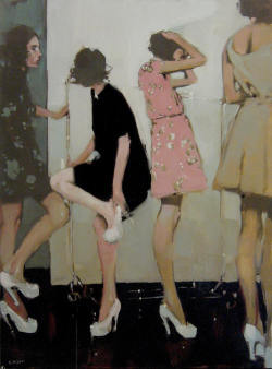 "birdwings:  maybelline:  ""Backstage"" by Michael Carson.  One of my ultimate faves."