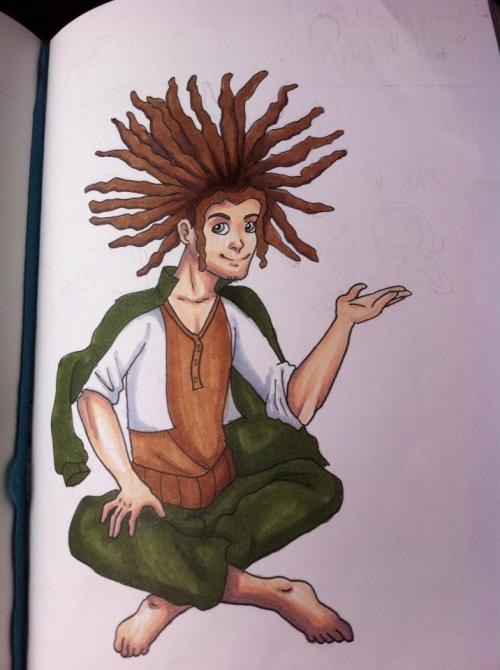 hagakure is probably my favourite dangan ronpa character he's a huge idiot but i love him
