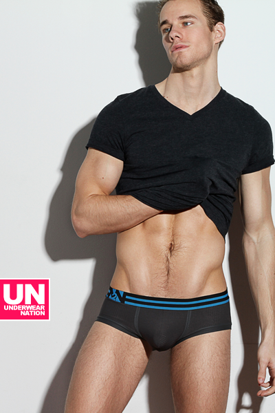 underwearnewsbriefs:  The Performance X line, this month's featured brief from Underwear Nation.