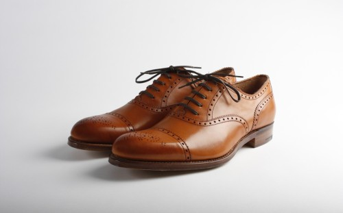 Grenson Tom Toe Cap Oxford