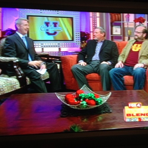 swflchristmaspageant:  Pastor Rob and Jeremy on #TheMorningBlend #Fox4 #christmasu #mcgregorbaptistchurch #swflchristmaspageant