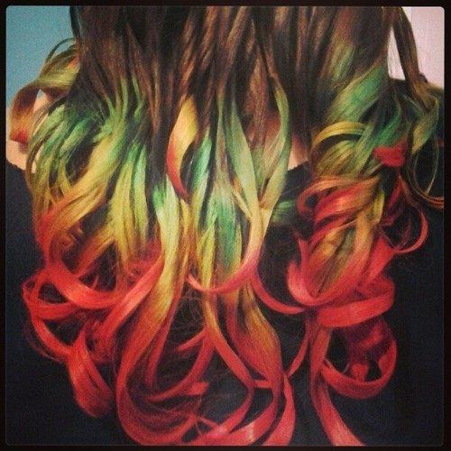 Heres the colors with curls idk if you would wanna post this one too it looks pretty awesome =D