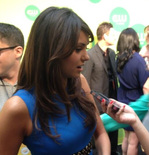 elenasfire:  First pic of Nina Dobrev @ CW Upfronts - 16/05/13