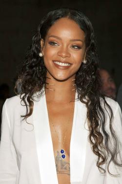 Rihanna at Edun Fashion Show at New York Fashion Week #4