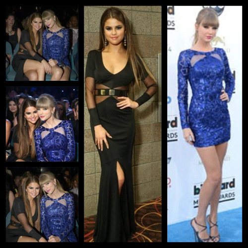 gomezswagg:  Selena and Taylor