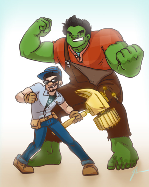 starkexpos:  socies:  kendrawcandraw:   SMASH-IT SCIENCEBROS!! This sketch has been sitting around for ages so I finally decided to finish it Fixing stuff is easier when your hammer has laser-targeted Stark Industries Fix-Missiles™ thank you very much   CRY  I JUST SCREAMED.