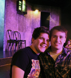 Brandon and I at Second City <3