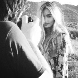 behind the scenes of our Valley Girl lookbook with Pia Mia ♥