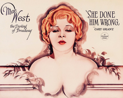 Poster for Lowell Sherman's She Done Him Wrong (1933)