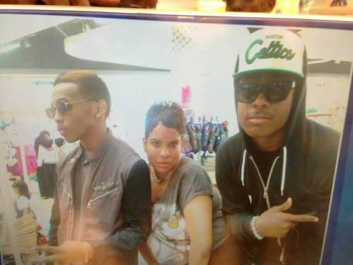 truelymindlessbehavior:  jawan, Prod, and prod's mom