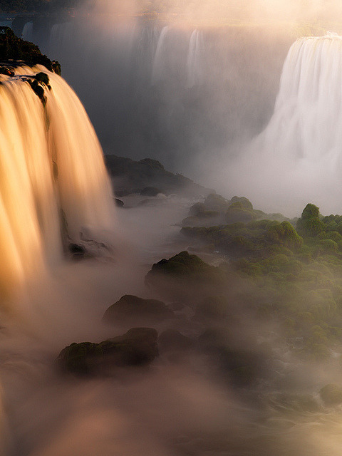 illusionwanderer:  Iguazu Falls, Brazil , The Gates of Calypso II (by AndersonImages)