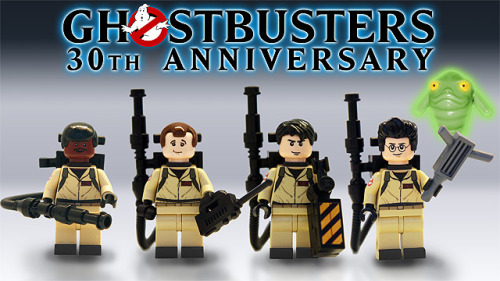 jadeboylan:  (via LEGO® CUUSOO | Ghostbusters 30th Anniversary) holy shmowzow! if this were real i would buy the HELL out of it!!! :O