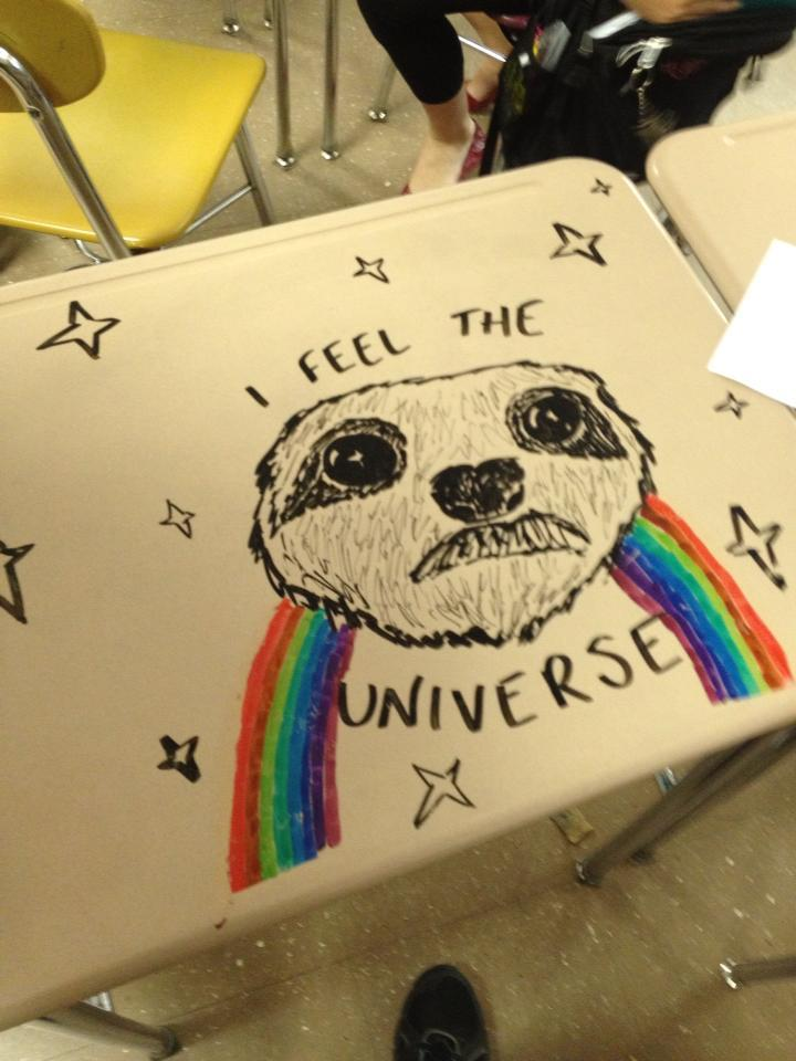 deejohnes:  Universe Sloth watches over us all