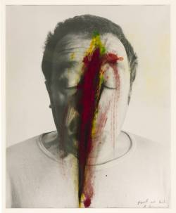 cavetocanvas:  Arnulf Rainer, Untitled (Face Farce), 1971