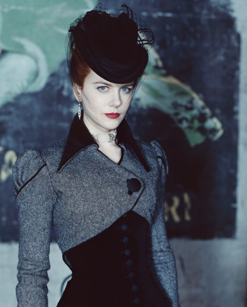 bohemea:  Nicole Kidman - Moulin Rouge portrait by Hugh Stewart  Favorite.