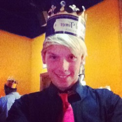Taking selfies at medieval times #selfie #memories #medievaltimes
