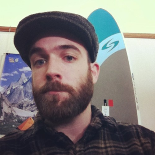 rennick25:  I think it's safe to say I fit in just fine in Maine. #beard   Indeed, sir. A welcome sight in my state.