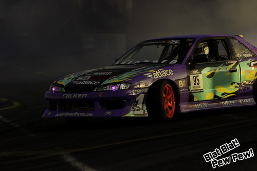 Walker Wilkerson practicing at Formula Drift Seattle 2012