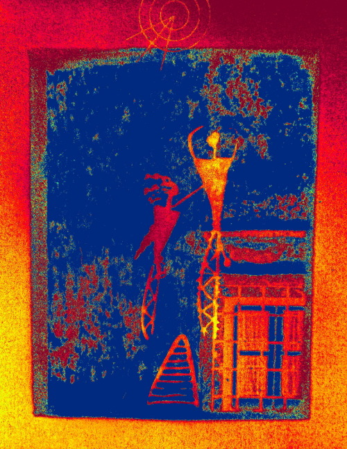 catching ghosts with thermographic camera