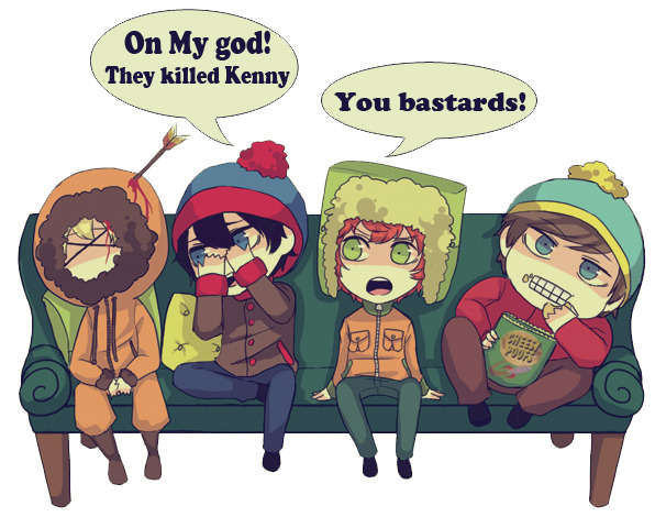 ericfuckingcartman:  South Park:club sofa by ~sujk0823