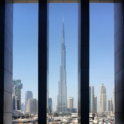 The view from the #Oberoi #Dubai.