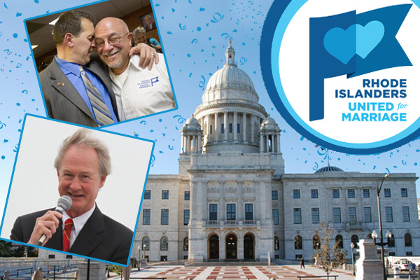 Yesterday, the Rhode Island House of Representatives overwhelmingly approved the marriage bill, which will now be considered by the state Senate! Reblog this graphic to celebrate the progress in RI, and check out this round-up of five other states where we can win in 2013: http://bit.ly/VbXIJp