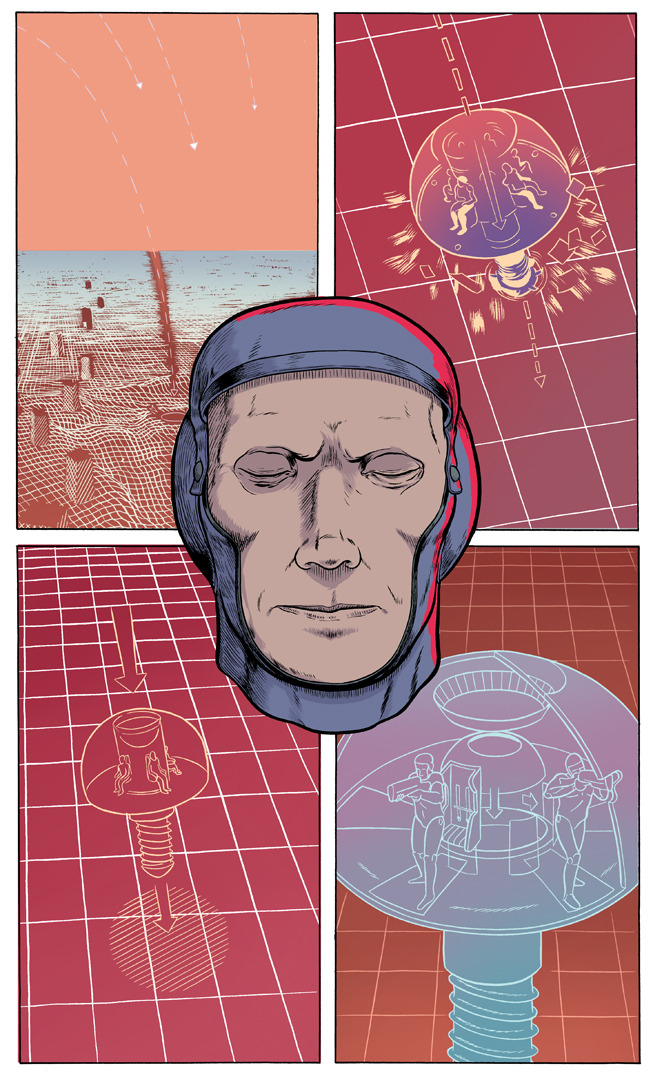 Shock Post, a short comic by myself and Matt Sheean, went up at Study Group today. Check it out! It was originally published in Prophet #24.