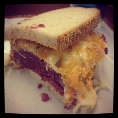 That's my Reuben…Katz you've done it again (at Katz's Delicatessen)