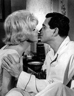 Doris Day and Rock Hudson in Send Me No Flowers (1964)