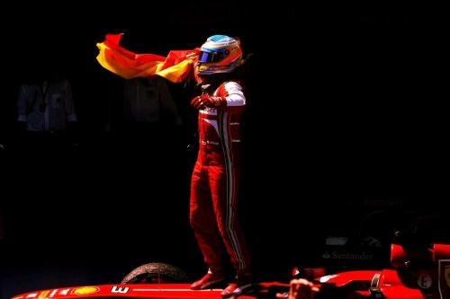 Fernando Alonso. Barcelona GP winner.