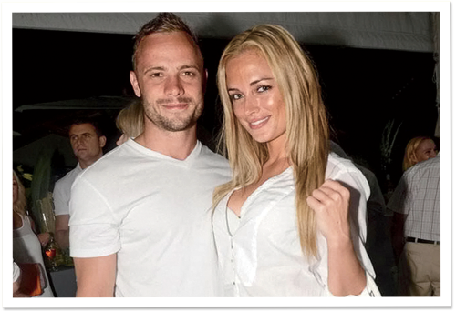 The Shooting Star and the Model | Inside the Oscar Pistorius Murder Case Photograph by Marcel Hartmann
