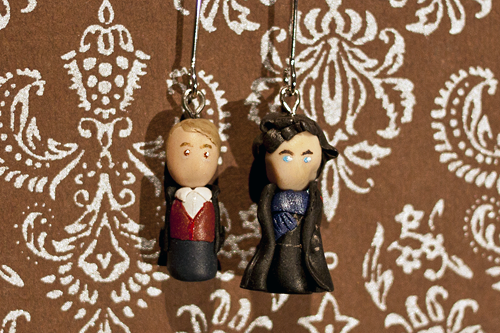 BBC Sherlock earrings