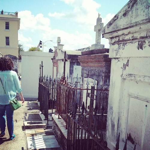 #abovegroundcemetary #NOLA (at St. Louis Cemetery No. 1)