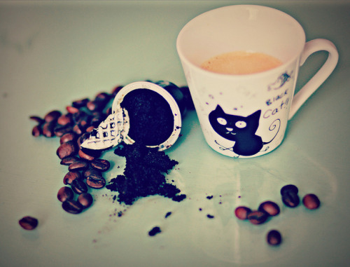 coffeenotes:  Chicchi, caffè, tazzina by framino on Flickr.