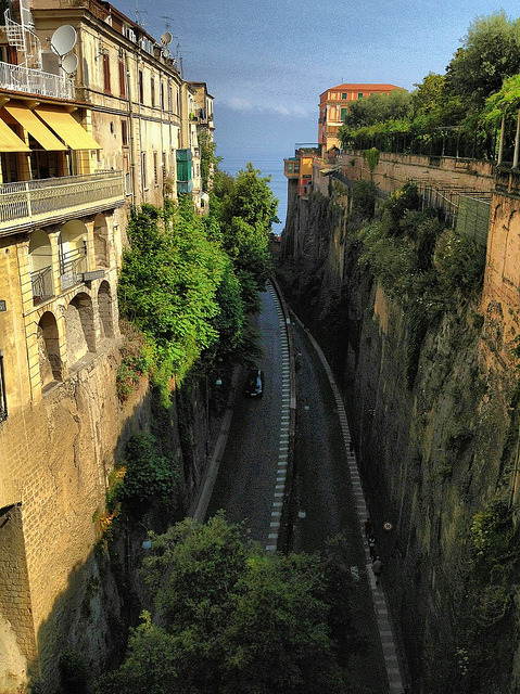 | ♕ |  Sorrento - Via Marina Piccola  | by © Ron Gunzburger