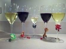 Floppet Wine Charms!