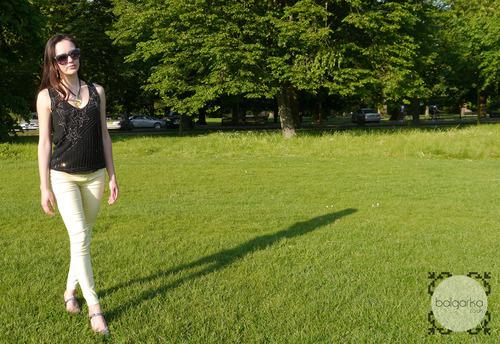 Lemons & Glitter, Monday Outfit Post: 12/12 DPdenim - The Blog of one Balgarka.co.uk
