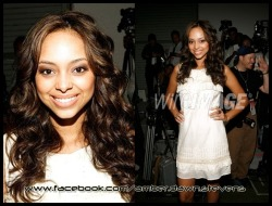 Amber Stevens attended Mercedes-Benz Fashion Week [2008]