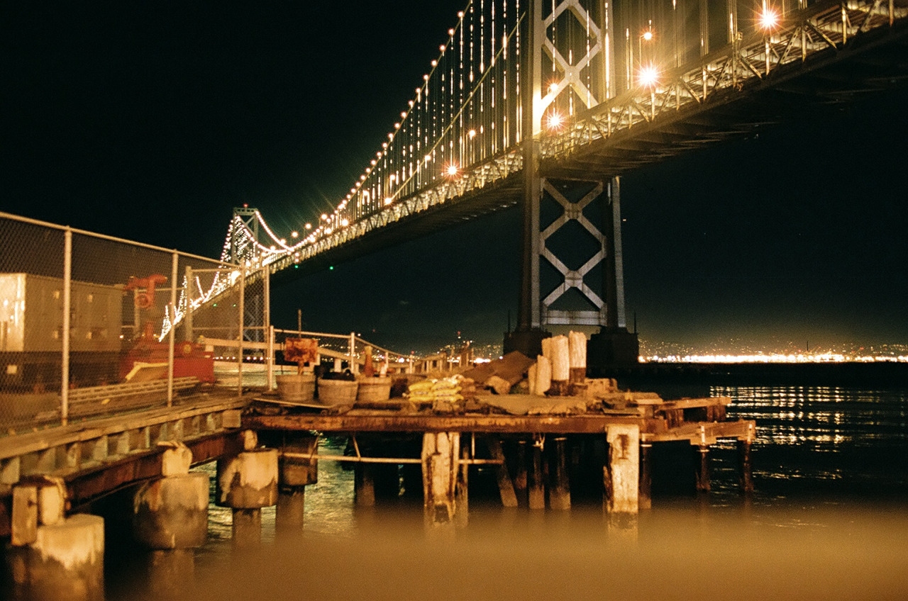 Bay Bridge, San Francisco, CA.
